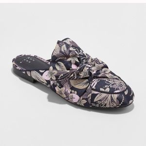 Shoes - Floral trendy mules